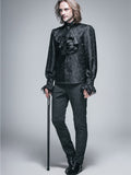 BLACK PALACE STYLE MEN'S GOTHIC SHIRT