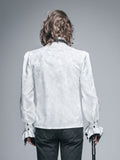 WHITE PALACE STYLE MEN'S GOTHIC SHIRT