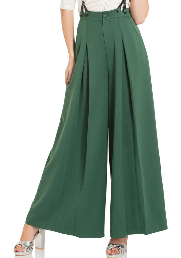 Laura Green Pants 40'S Style Trousers