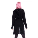 Adria Gothic Cardigan Ladies Black