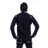 BLAZE GOTHIC M-SWEATERS MENS BLACK