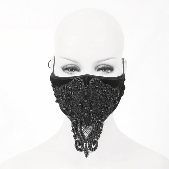 Washable Reusable Gothic Fabric Mask Fancy