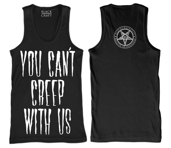 Blackcraft You Can't Creep With Us Tank Top