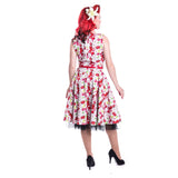 Dana Dress Ladies Summer Cherry