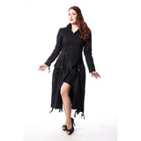 Desiyer Gothic Coat Ladies Black