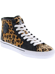 Leopard Broadway Hi Top Shoes