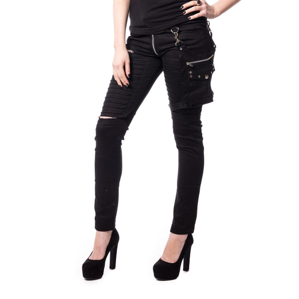 SCARLETT PANTS LADIES BLACK