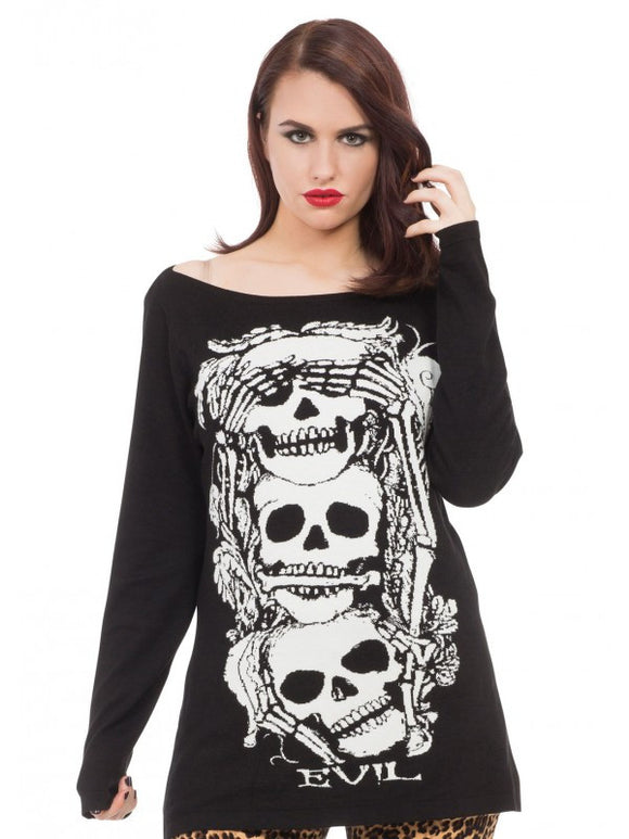 No Evil Knit Sweaters