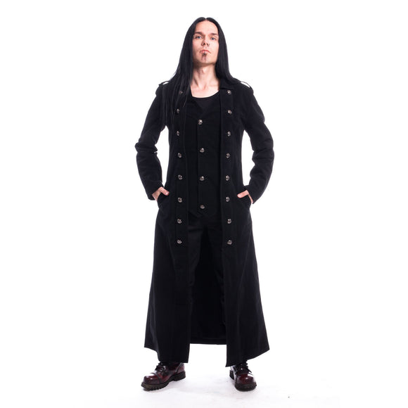 Walker Gothic Men's Coat Black