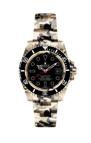 Rolex Submariner Date: Brown Camo Titan Black USA