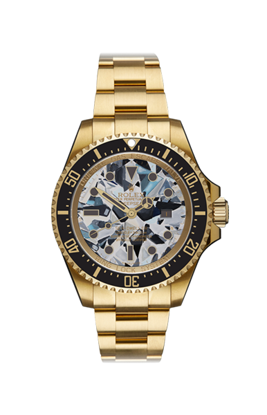 Deep Sea Gold Dweller Diamond MKII Titan Black USA