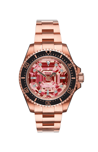 Deep Sea Rose Dweller Ruby MKI Titan Black USA