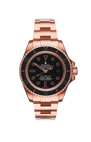 Rolex Deep Sea: Rosé Oro Nero Titan Black USA