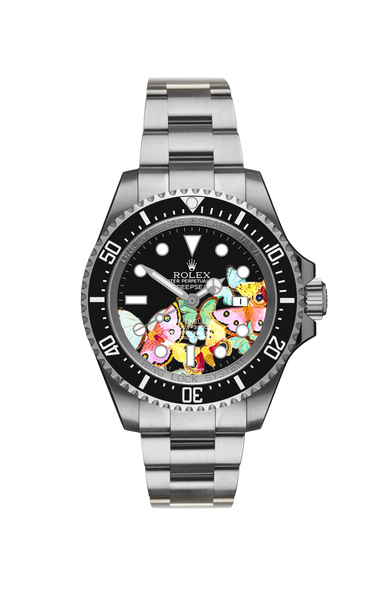 Rolex Deep Sea: Butterflies Titan Black USA