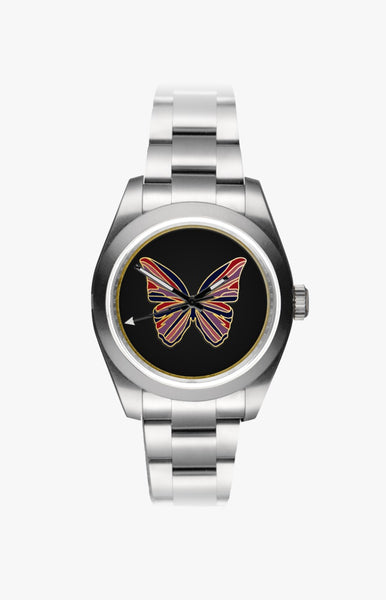 Rolex Milgauss: Butterfly UltraGlow Steel Titan Black USA