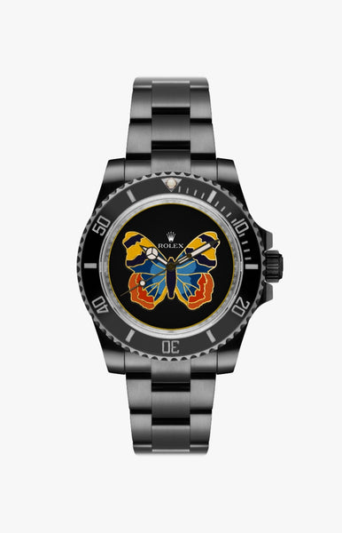 Rolex Submariner Paradise Butterfly Ultraglow DLC Titan Black USA
