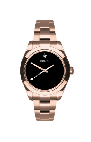 Rolex Milgauss: Rose Knight Titan Black USA