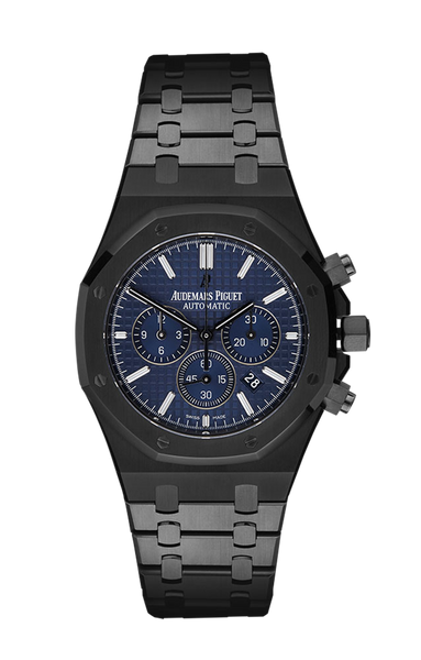 Audemars Piguet Royal Oak: Blue Titan Black USA