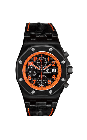 Audemars Piguet Royal Oak Offshore: Arancio Titan Black USA
