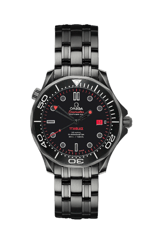 Omega Seamaster Serpent Titan Black USA