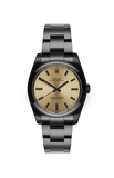 Rolex Oyster Perpetual: Champagne Titan Black USA