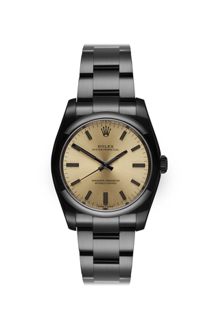 Rolex Oyster Perpetual: Champagne
