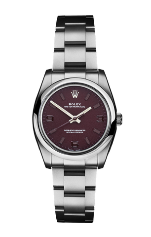 Rolex Oyster Perpetual: Rouge Noir