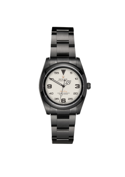 Rolex Air King Gossamer Titan Black USA