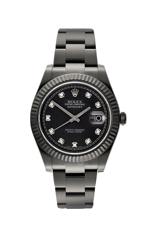Rolex Datejust II Caesar 116334 Titan Black USA
