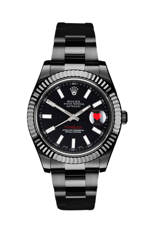 Rolex Datejust II Heart 116334 Titan Black USA