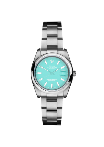 Rolex Datejust II Tiffany Blue Titan Black USA