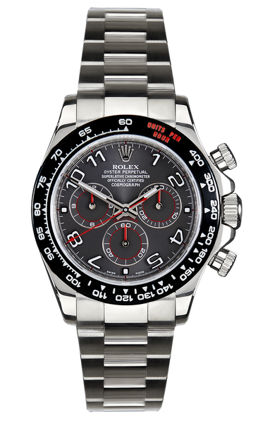 Rolex Daytona: 500 Titan Black USA