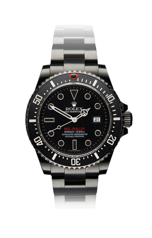 Rolex Deep Sea Double Red Titan Black USA