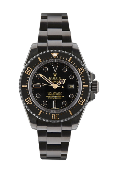 Rolex Deep Sea Dweller Oro Titan Black USA