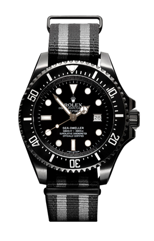 Rolex Deep Sea Fathom 116600 Titan Black USA
