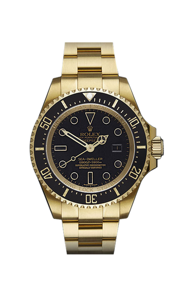 Rolex Deep Sea Gold DLC 116600 Titan Black USA