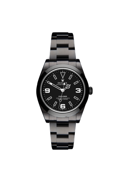Rolex Explorer I Midnight Titan Black USA