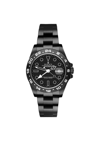 Rolex Explorer II Midnight Titan Black USA
