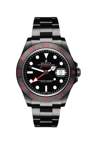 Rolex Explorer II Triple Red Titan Black USA