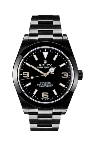 Rolex Explorer MK1 214270 Titan Black USA