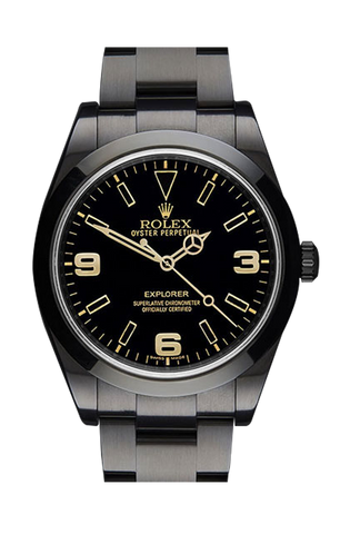 Rolex Explorer Oro 214270 Titan Black USA