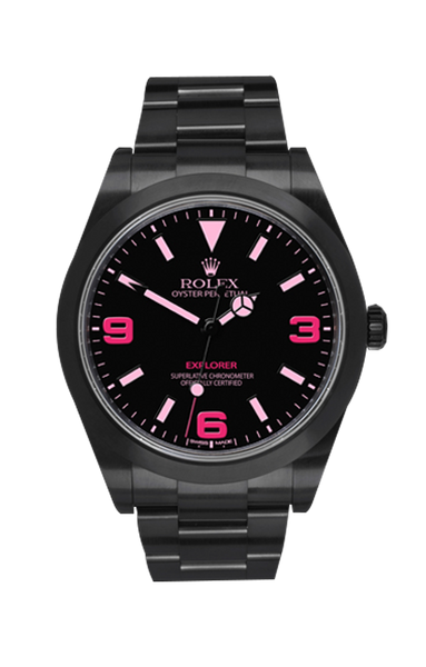 Rolex Explorer Vale Titan Black USA