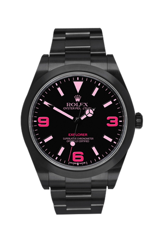 Rolex Explorer: Vale 214270 Titan Black USA