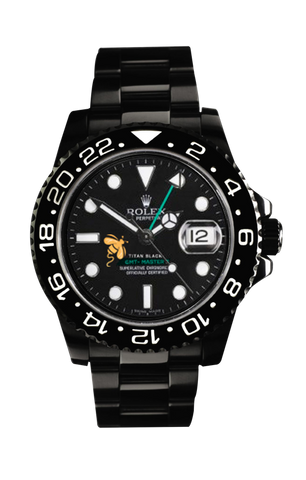 Rolex GMT II: Aspinall's Foundation Edition Titan Black USA