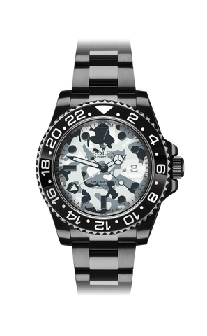 Rolex GMT II: Camo Titan Black USA
