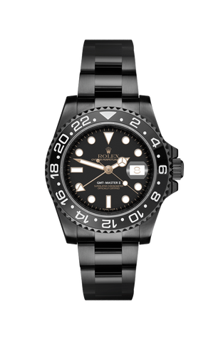 Rolex GMT II: Eclipse Titan Black USA