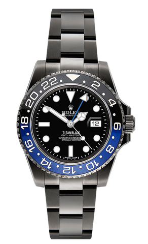 Rolex GMT II: MKI Titan Black USA