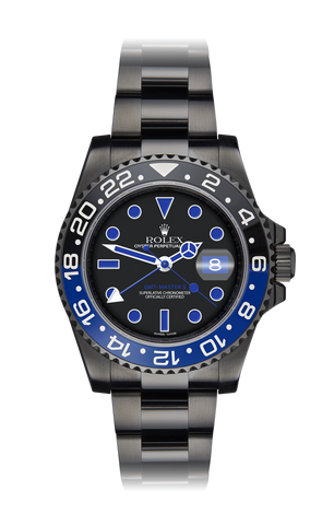 Rolex GMT II: Racer Titan Black USA