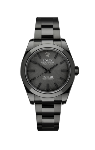 Rolex Milgauss: Gravity Titan Black USA