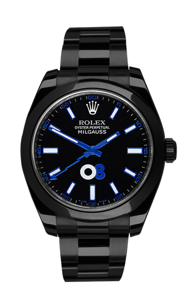 Rolex Milgauss: Oscar Collaboration Titan Black USA